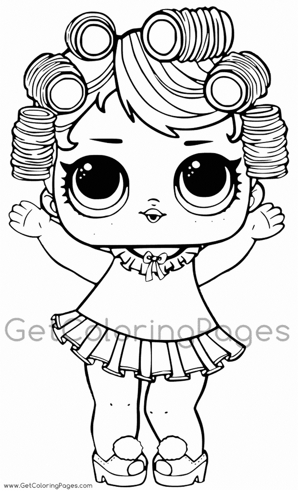 Раскраски куклы Лол (With images) | Розмальовка, Малюнки ...