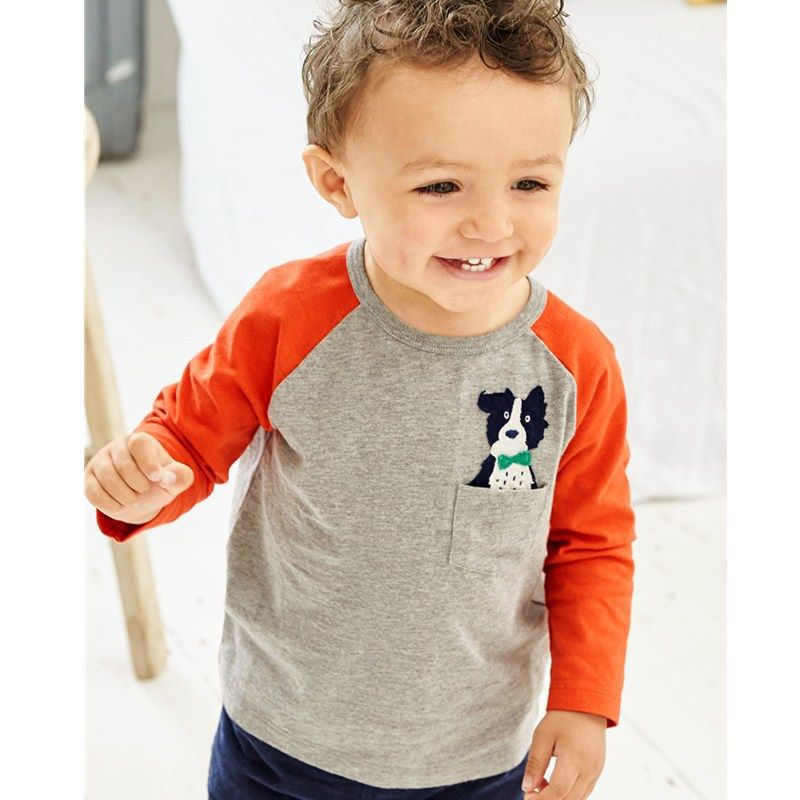 Autumn Fashion Baby Boy Sweater Clothes Cotton Tops Toddler Child Boys T-Shirts