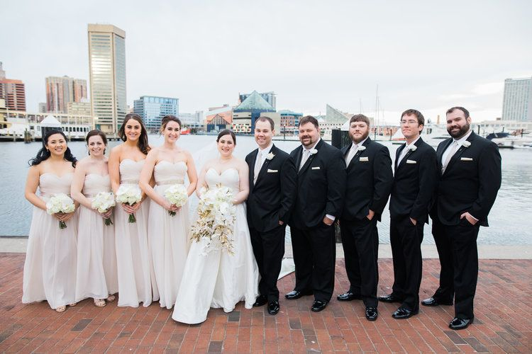 Center Club Wedding in Baltimore Maryland Event company Maryland