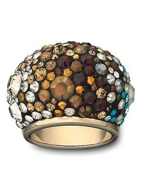 beb6c6ad8 Swarovski Chic Mocca Ring | Gallery of Jewels | Swarovski ring ...