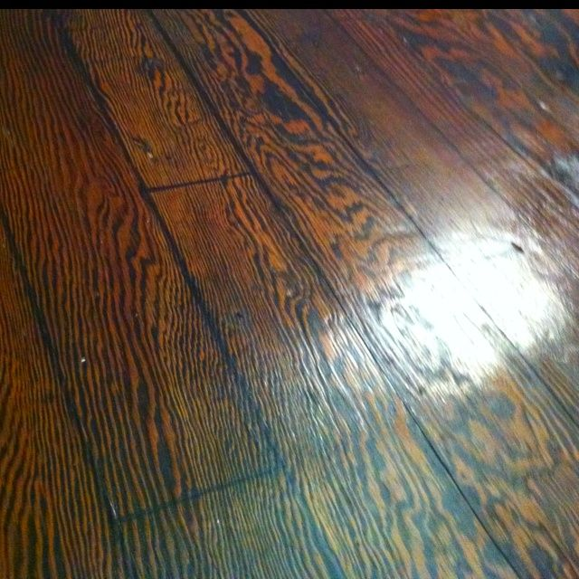 Floor. I Tore Out The Carpet