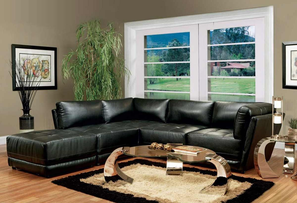 Living Room Colors For Black Leather Furniture  Http Impressive Black Leather Living Room Furniture Decorating Design