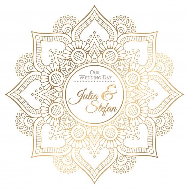 Ornamental mandala wedding invitation vector free download ornamental mandala wedding invitation vector free download stopboris Gallery