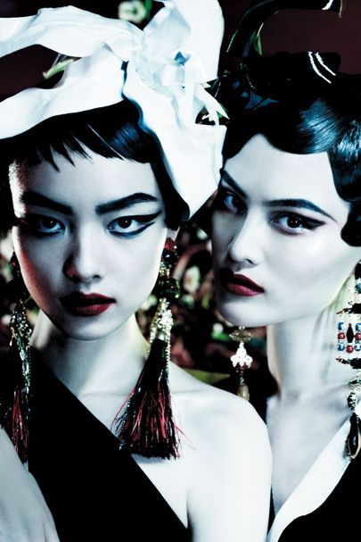 March 2013 Fei Fei Sun and Sui He - mario testino