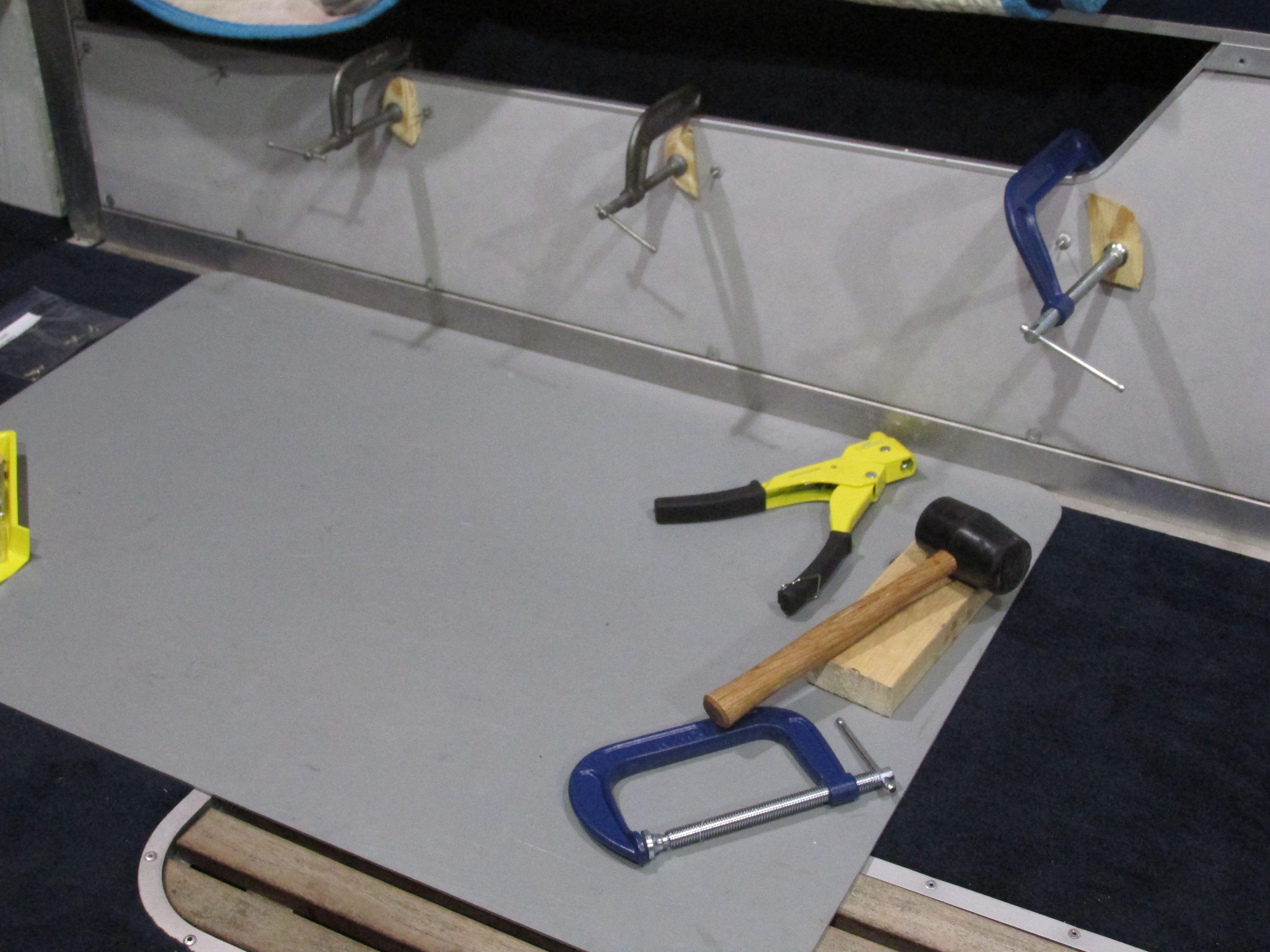 1987 Smoker Craft Challenger Replacing Boat Floor