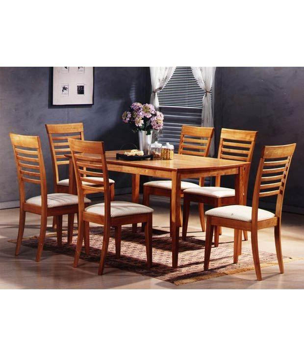 Delightful Zuari Furniture Dining Table Set