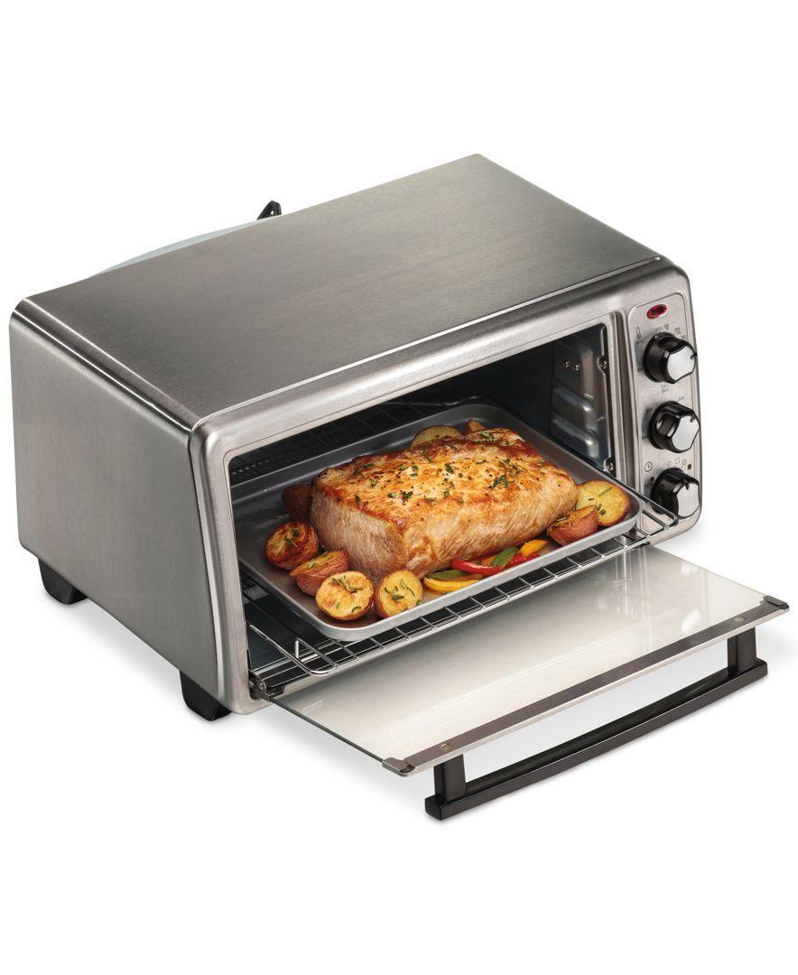 Hamilton Beach Toaster Oven Reviews Small Appliances Kitchen