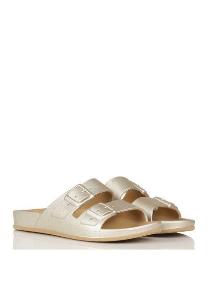 Sandales plates parfumées metalliséesCacatoès HBlFkO