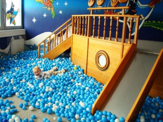 Boat Ball Pit Noah Robbie And David Would Love This