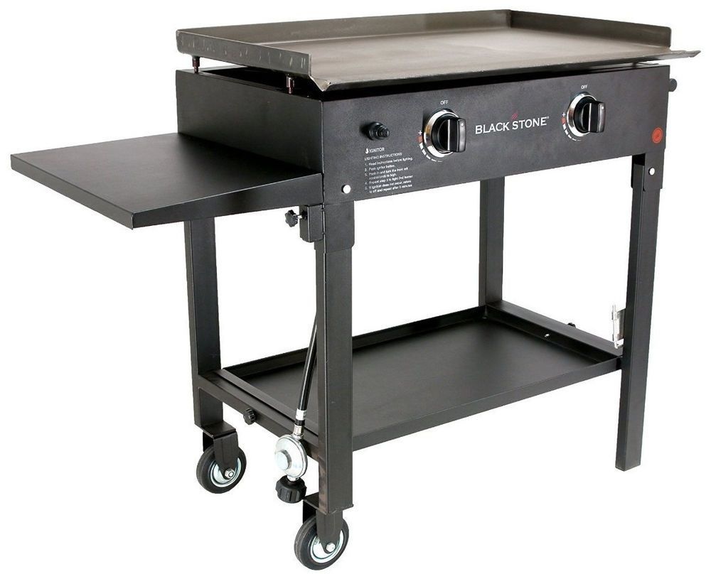 Patio Gas Griddle Pool BBQ Breakfast Cook Station Outdoor