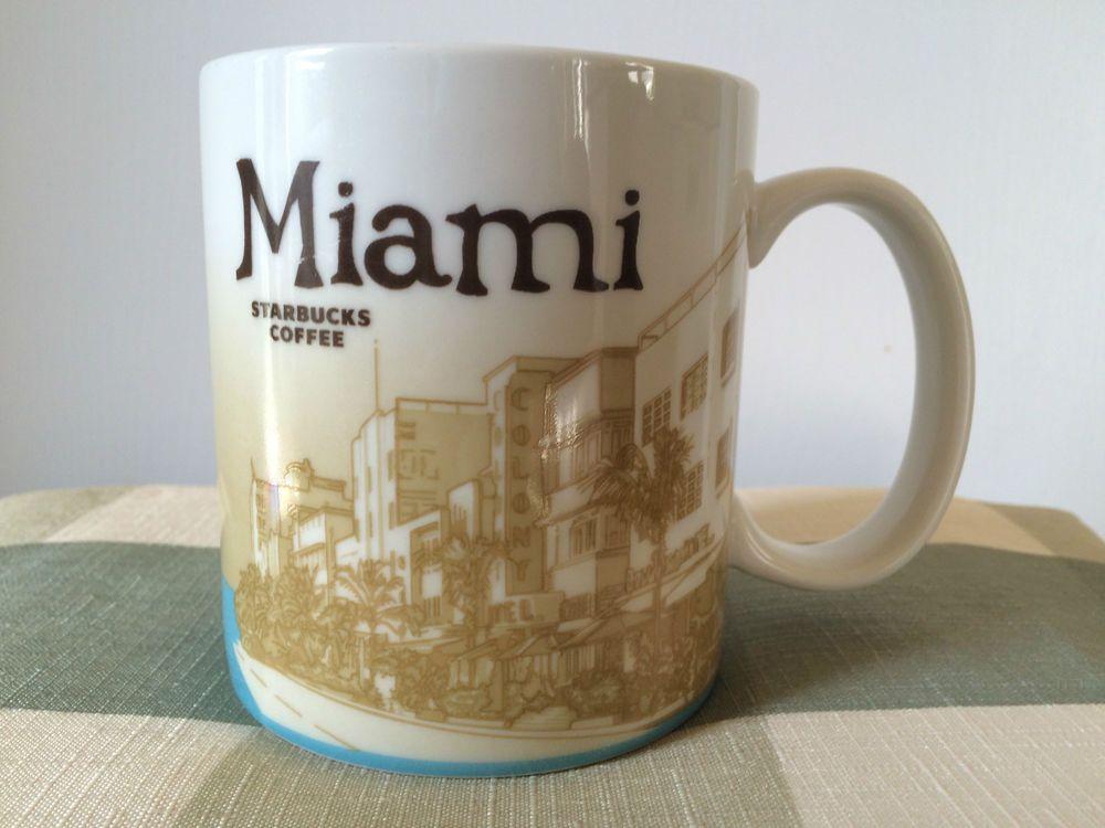 16oz Starbucks Coffee Cup Mug Morocco City Collector Series Mugs