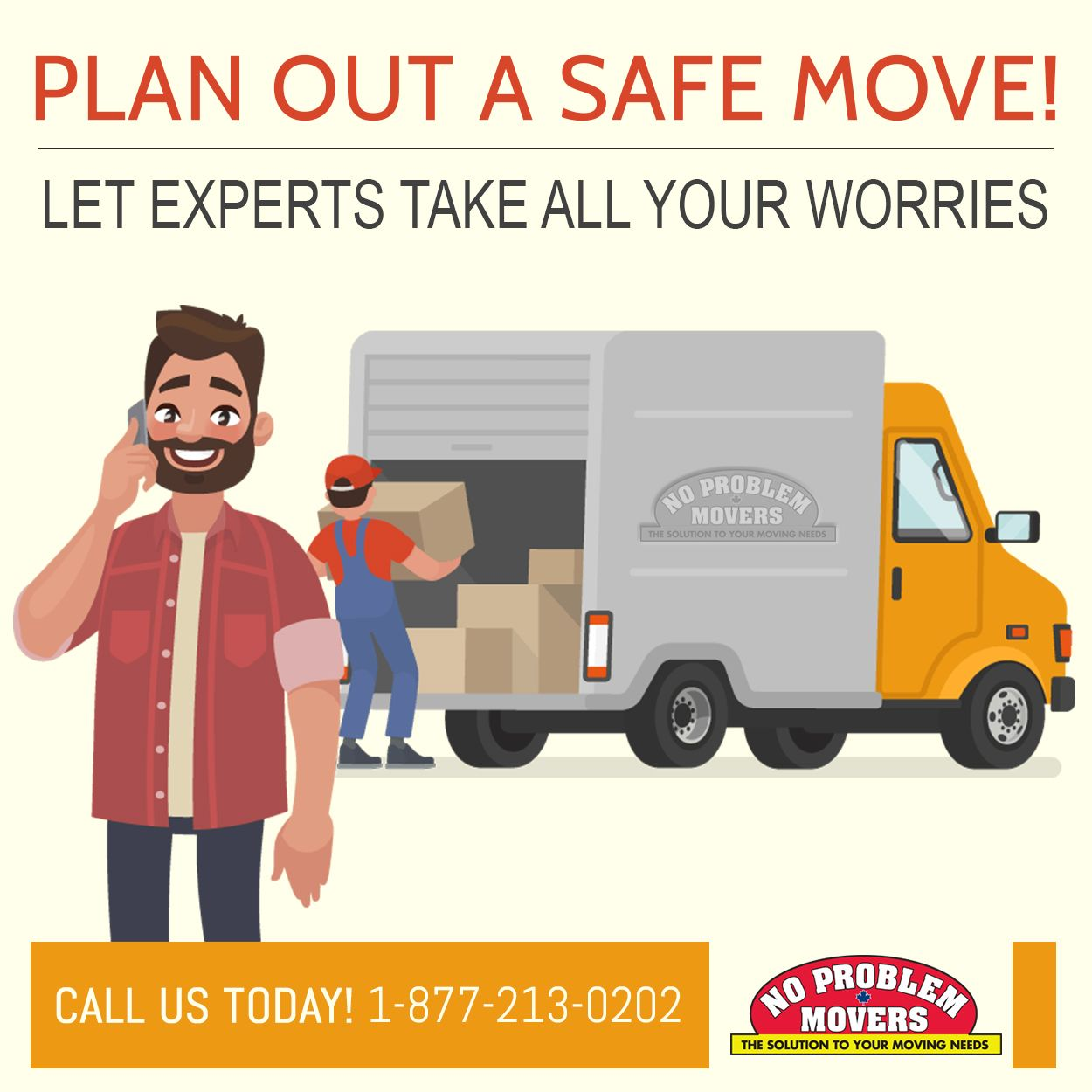 Plan out a safe move! Let experts take all your worries