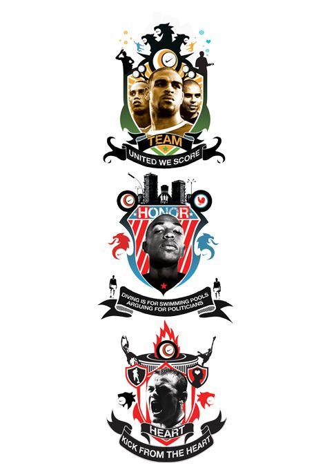 Nike Joga Bonito By Alvaro Sotomayor Via Behance Sports Graphics Illustrations Posters Sports Design