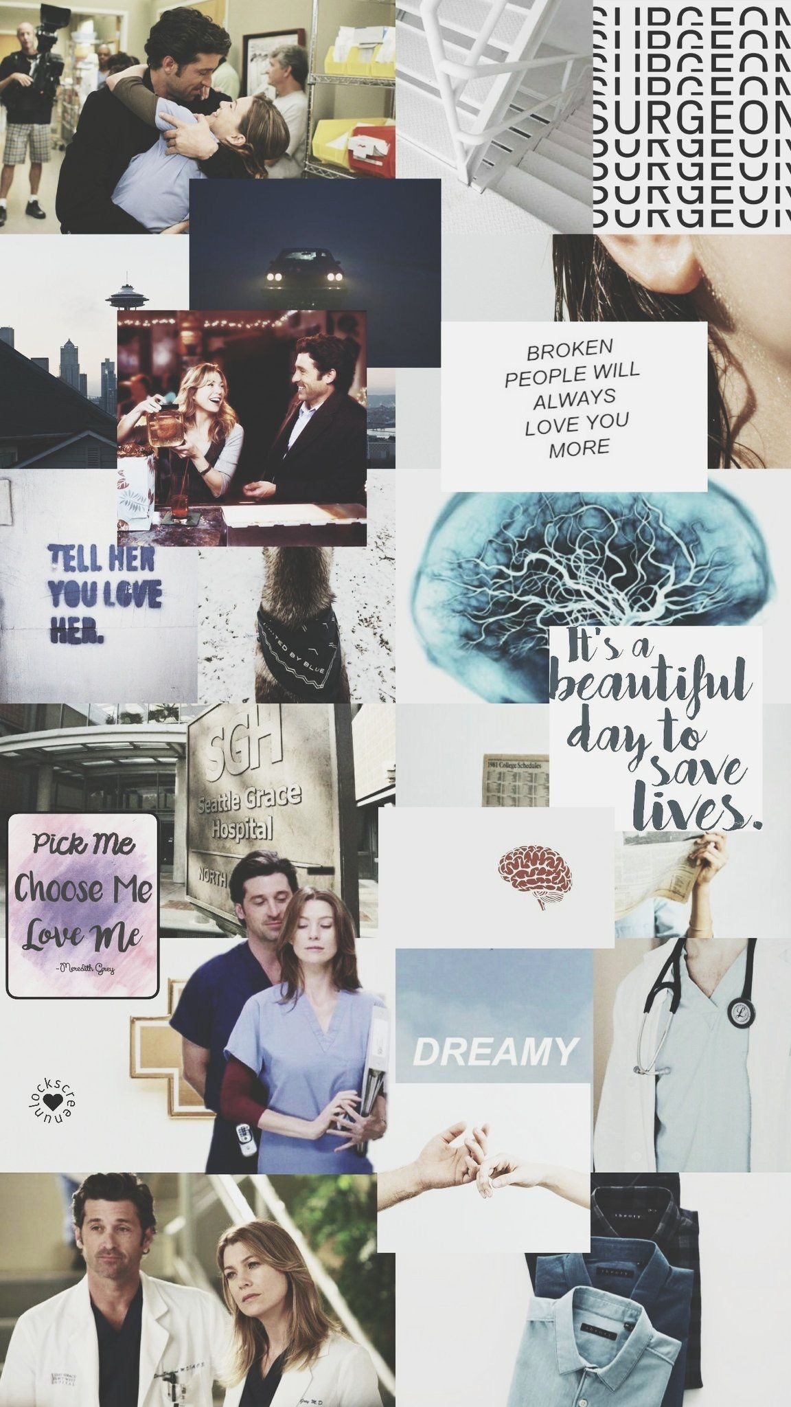 Merder Grey S Anatomy Greys Anatomy Papel De Parede Wallpaper