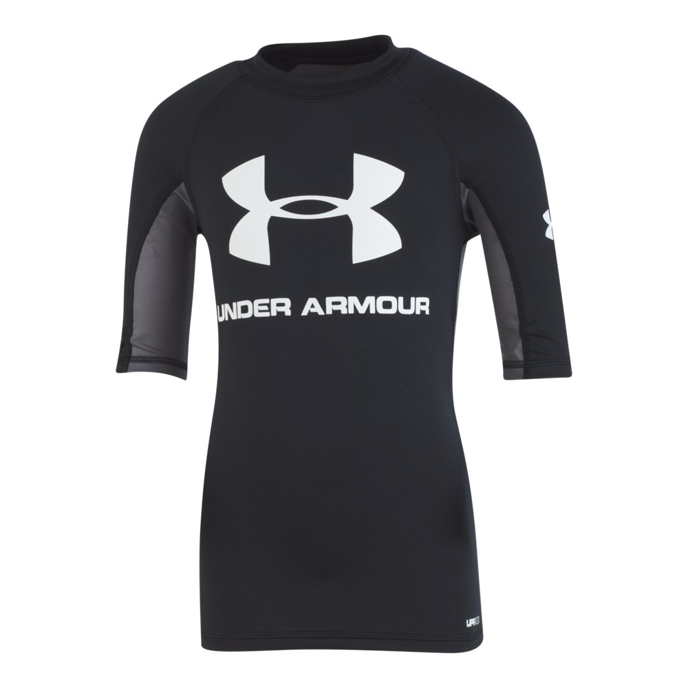 cc08fa32b3 Under Armour Boys' UA Compression Short Sleeve Rashguard Shirt ...