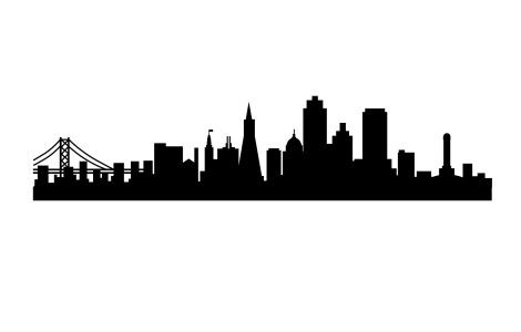 Gotham City Skyline Outline City Skyline Silhouette Gotham City Skyline Skyline Silhouette