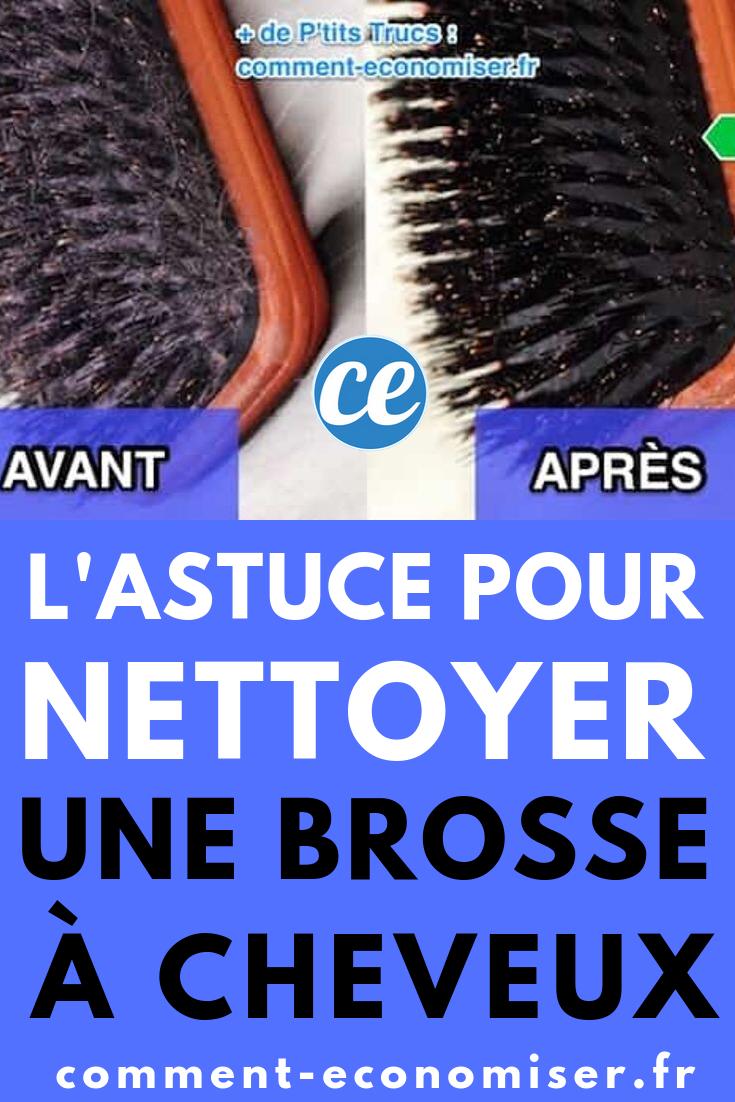 Comment Nettoyer Et Desinfecter Facilement Une Brosse A Cheveux Toute Grasse Comment Nettoyer Cheveux Et Astuces Pour Nettoyer