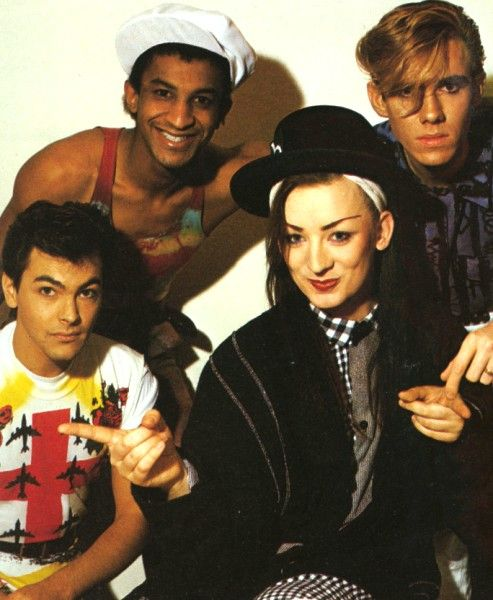 """Culture Club. Boy George confused my dad: """"Is it a man? Is it a woman?"""" Clearly, a different generation."""