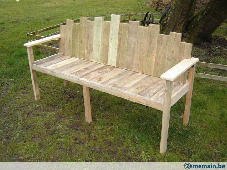 Banc de jardin artisanal banc banc jardin meuble jardin et mobilier de salon for Mobilier de jardin en bois