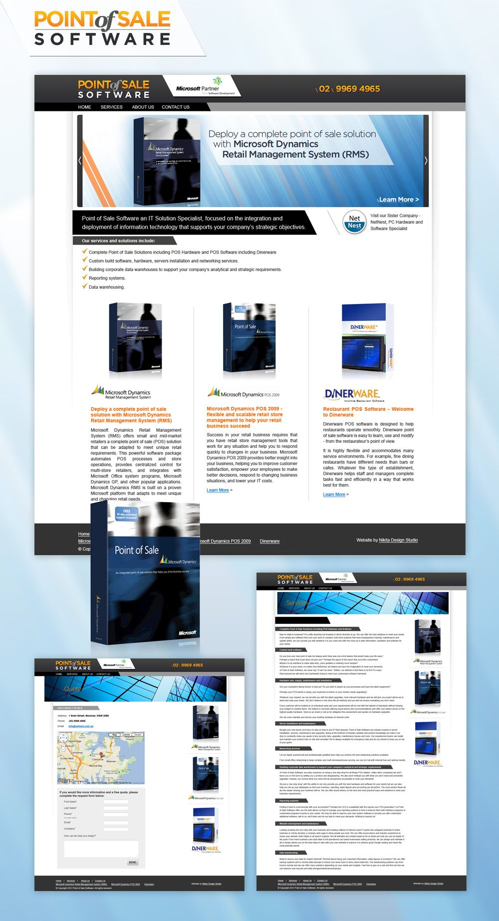 Point Of Sale Software Website Point Of Sale Web Design Software