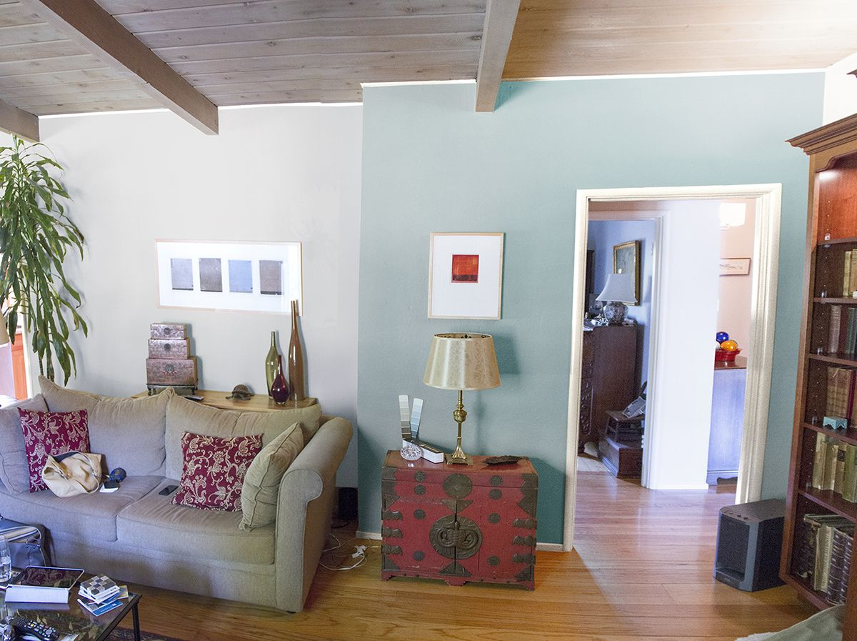Living Room Rendering Paint Colors Bm Quot Cedar Key Quot On