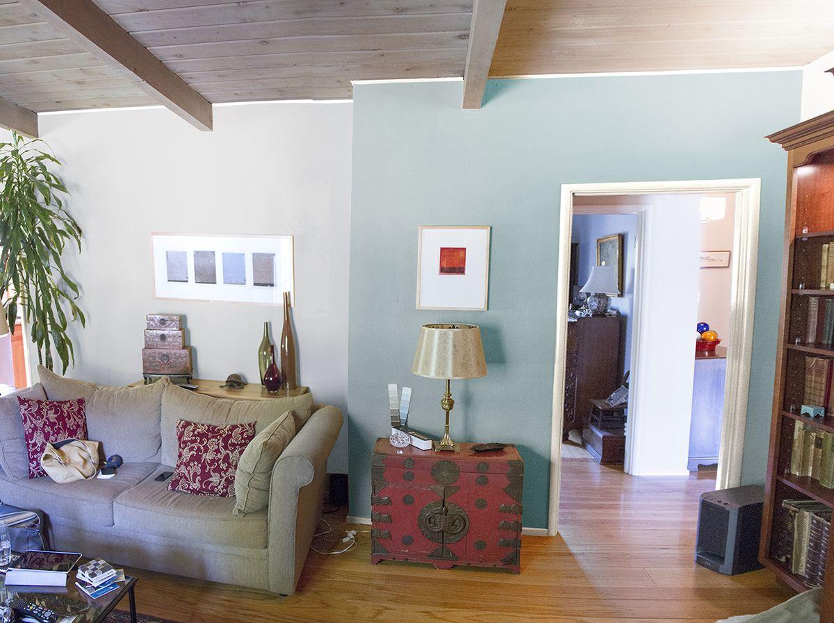 living room rendering paint colors bm cedar key on walls sherwin williams interesting aqua. Black Bedroom Furniture Sets. Home Design Ideas
