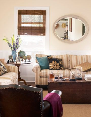 What's one thing you like about this living room? What would you change?    #livingrooms #decorating