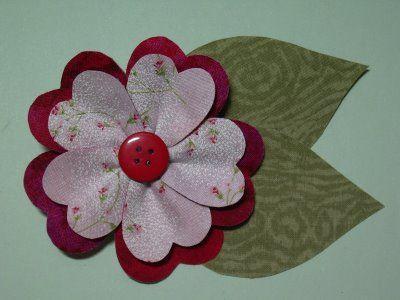 Photo of Polka Dot Pineapple: Tutorial–'Sweetheart Suzy' Flower Pin