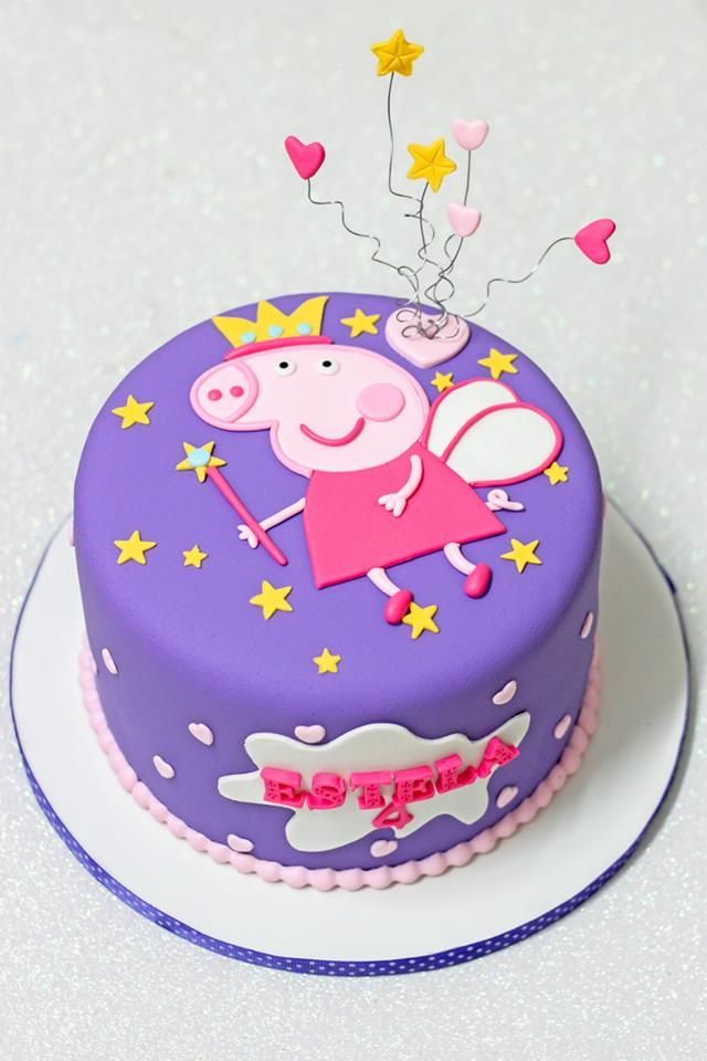 Pin By Crafty Mami Pig On Peppa Pig George Pig Birthday Cake Collection Pig Birthday Cakes Peppa Pig Cake Peppa Pig Birthday Cake