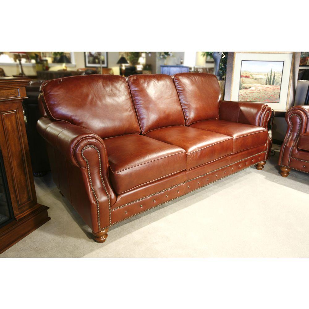 Stratford Leather Sofa - Old World craftsmanship and ...