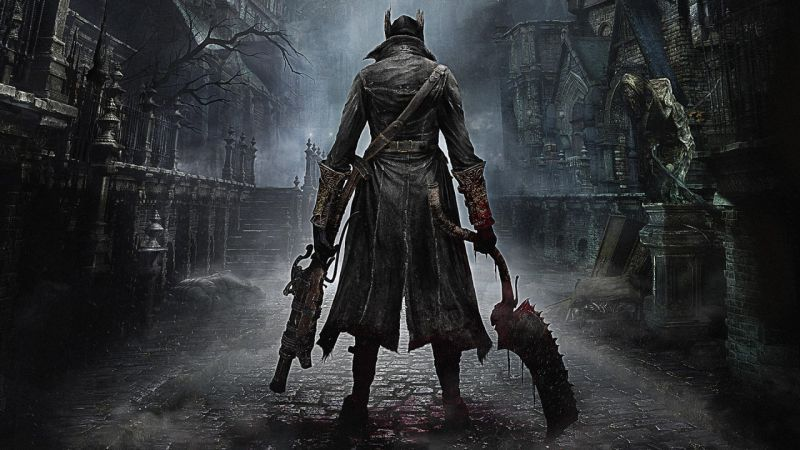 Illustration For Article Titled The Art Of Bloodborne Sure Is Beautiful Video Game Posters Bloodborne Dark Souls