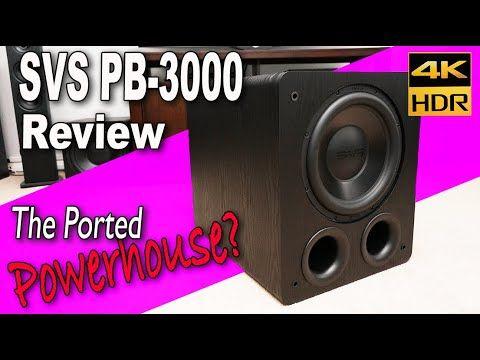 SVS PB3000 Subwoofer Review The Best Midrange