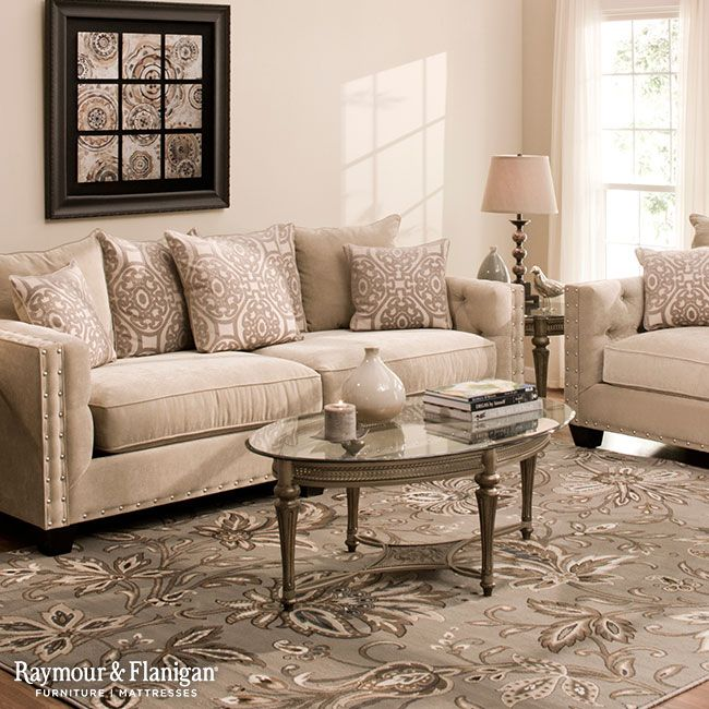 Cindy Crawford Home Decor: Cindy Crawford Calista Microfiber Sofa