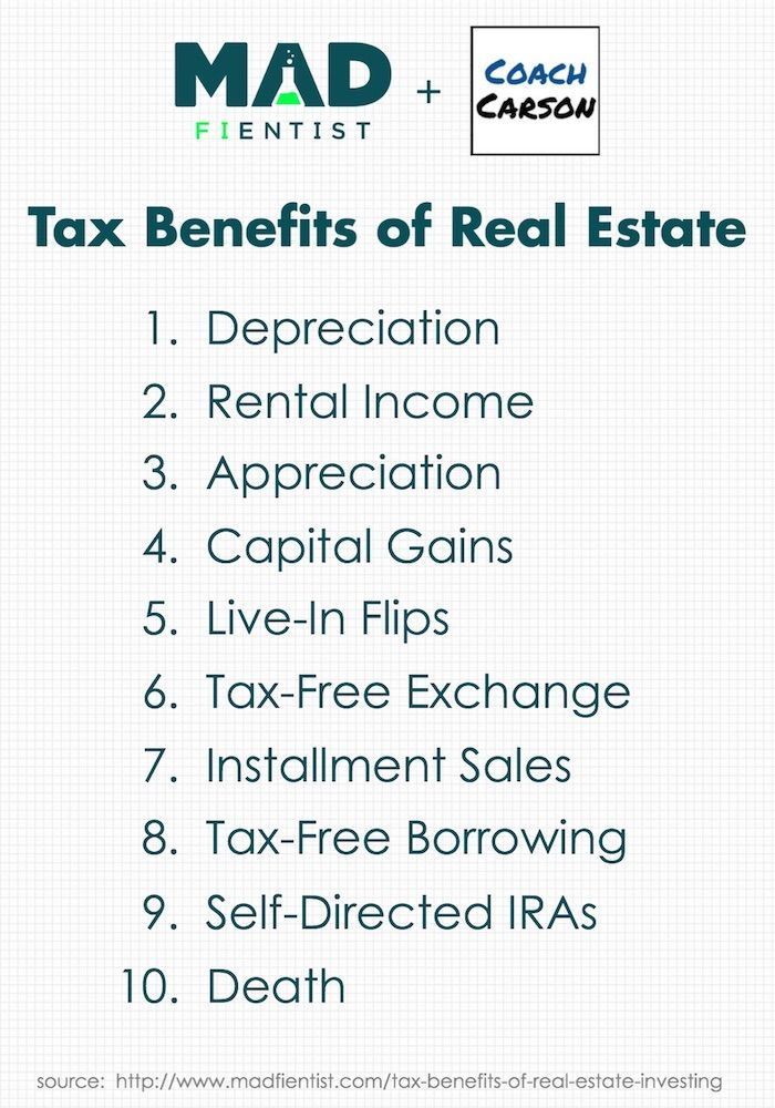 The Incredible Tax Benefits Of Real Estate Investing With Images