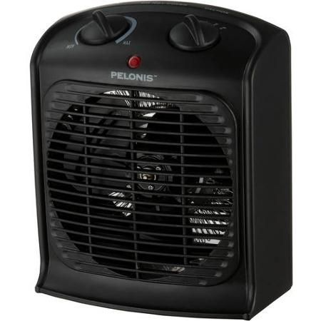 Pelonis Fan Forced Heater With Thermostat Portable Space Heater Space Heater Heater
