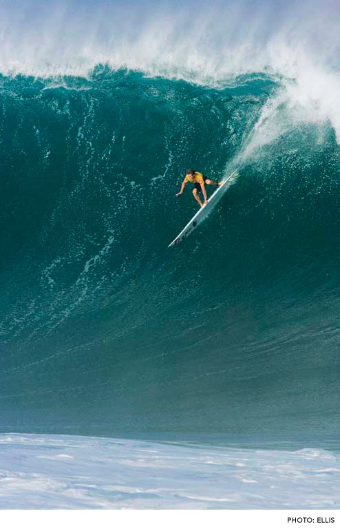 Mark Healey Waimea Bay Photo Ellis Big Wave Surfing Surfing