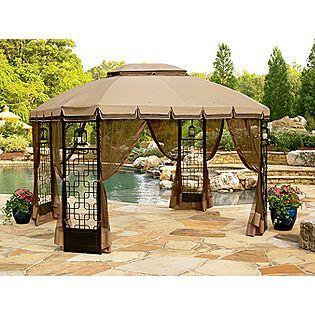 Trellis Gazebo Garden Oasis Gazebo Replacement Canopy Outside Gazebo Gazebo