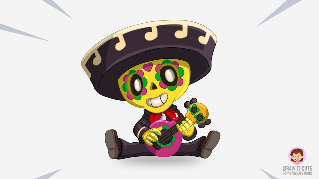 How to draw Poco super easy with coloring page Conselhos