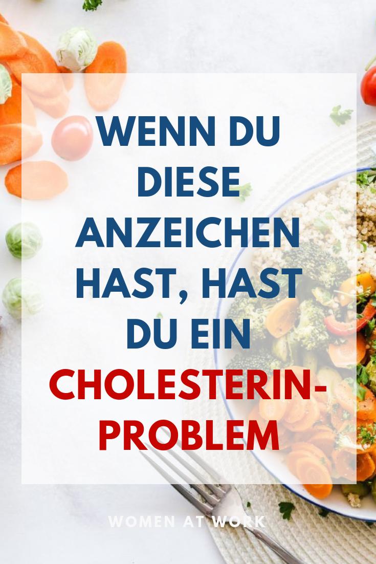 Zu hohe LDL-Werte! Anzeichen für ein Cholesterin-Problem..