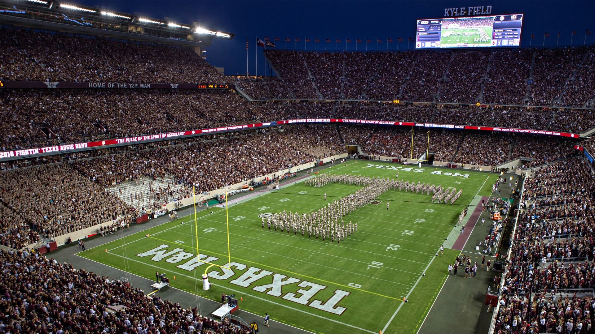 Kyle Field College Station A M Football Texas A M Football Texas A M