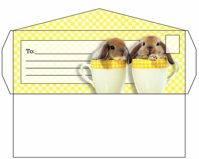 Bunnyyellowstationeryenvelope Vi Jpg 700 560 Envelope Template Stationery Paper Envelopes