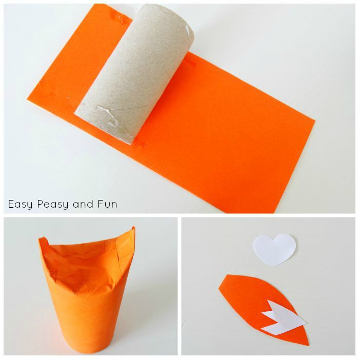 Toilet Paper Roll Fox Craft Toilet Paper Crafte Toilet