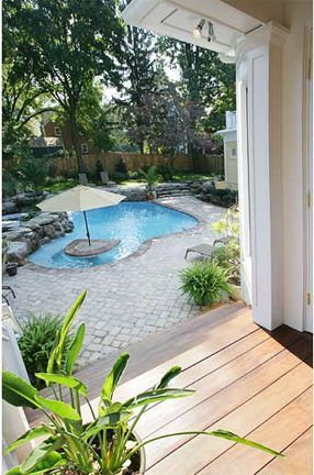 Small Pools For Small Backyards Pool By Serene Pools Landscaping Small Backyard Pools Backyard Small Pools