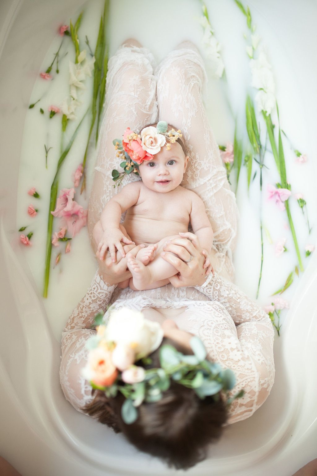 Milk Bath Photography Is the Dreamiest Maternity Shoot Trend On Pinterest recommendations