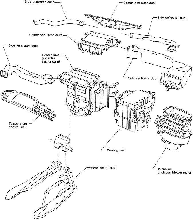 2001  U0026quot Nissan Maxima U0026quot  Vacuum Diagrams
