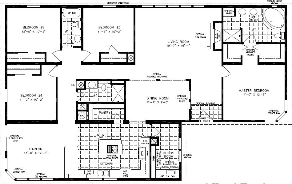 Floorplans For Manufactured Homes 2000 Square Feet Up Modular Home Plans Manufactured Homes Floor Plans Modular Home Floor Plans