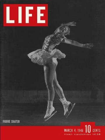 Life Magazine, March 4, 1946 - Champion ice skater