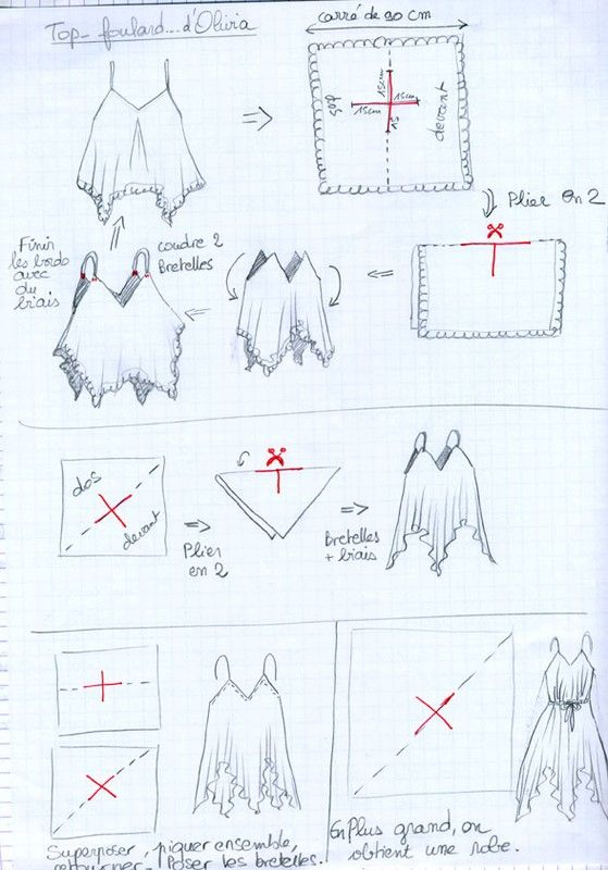 diy crop top | couture | Pinterest | Costura, Patrones y Molde