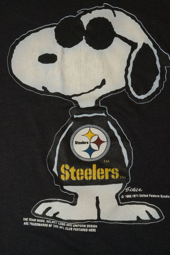 a23ef2b5d Snoopy sportin Black and Yellow. One smart dog.