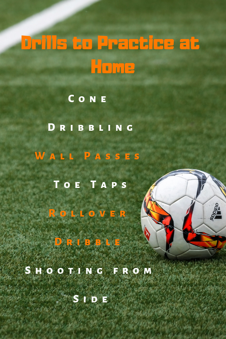 Soccer At Home Soccer Drills Soccer Workouts Soccer Training Drills